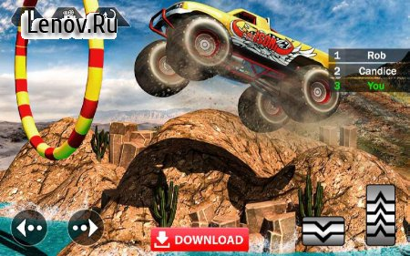 Mega Truck Race - Monster Truck Racing Game v 1.0 (Mod Money/Unlock all levels)