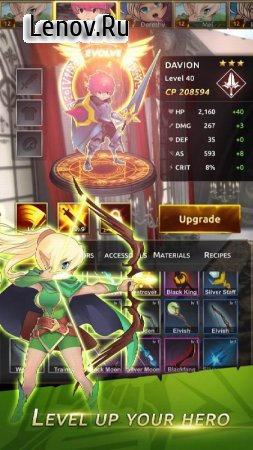 Knight War: Idle Defense Pro v 1.1.7 (Mod Money)