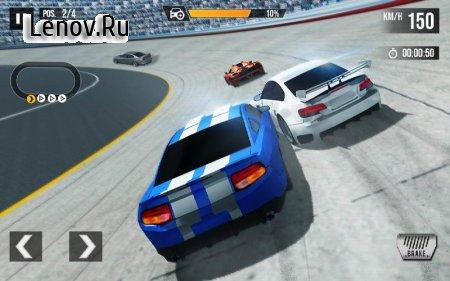 REAL Fast Car Racing: Asphalt Road & Crazy Track v 1.0 Mod (Lots of gold coins)