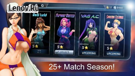 Lewd League Soccer (18+) v 1.0.24 Mod (Unlimited Coins/Stars & More)
