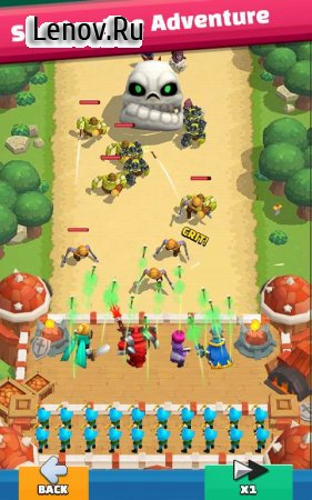 Wild Castle: 3D Offline Strategy Defender TD v 1.2.24 Mod (Lots of mana/mod menu)