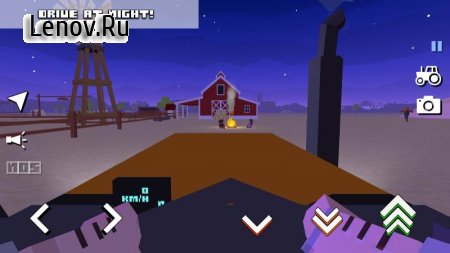 Blocky Farm Racing & Simulator - free driving game v 1.41 Mod (Unlocked)