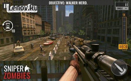 Sniper Zombies: Offline Game v 1.32.1 Mod (Free Shopping)
