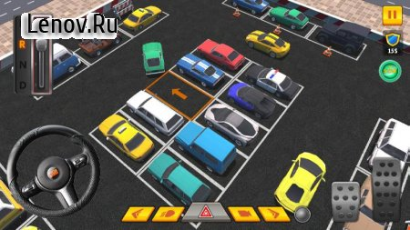 Car Parking 3D Pro v 1.35 Mod (Unlocked/No ads)
