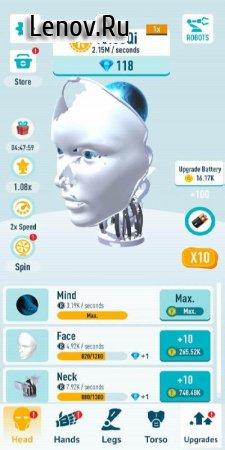 Idle Robots v 0.3 (Mod Money/Unlocked/No ads)