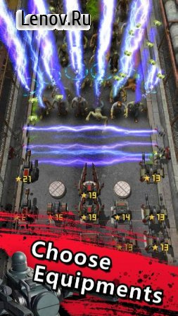Zombie Defense: Попробуй выжить в мире зомби v 1.0.1 (Mod Money)