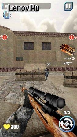 Shooting Terrorist Strike: Free FPS Shooting Game v 1.0.5 Mod (Lots of diamonds/no ads)