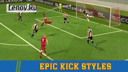 Soccer League Season 2020: Mayhem Football Games v 1.6 Mod (Unlimited Gold Coins)