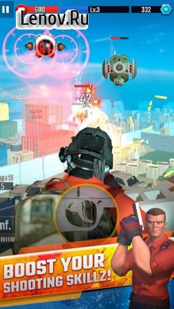 Boom Hero: Tactical Combat Game v 1.01.14 (God Mode/One Hit)