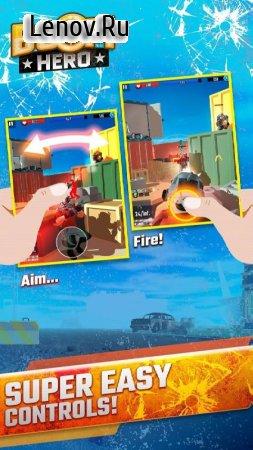 Boom Hero: Tactical Combat Game v 1.04.34 (God Mode/One Hit)