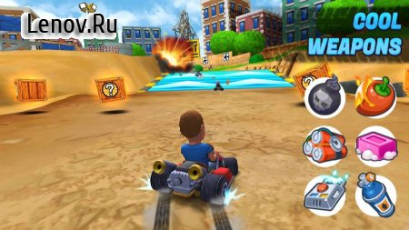 Boom Karts - Multiplayer Kart Racing v 1.4.0 (Mod menu/Unlocked)