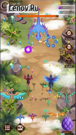 DragonFly: Idle games - Merge Dragons & Shooting v 1.8 Mod (Unlimited Gold/Diamonds/Stones)