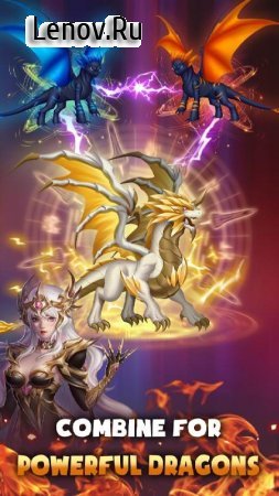 DragonFly: Idle games - Merge Dragons & Shooting v 1.0.12 Mod (Unlimited Gold/Diamonds/Stones)
