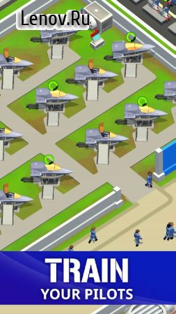 Idle Air Force Base v 0.17.1 (Mod Money)
