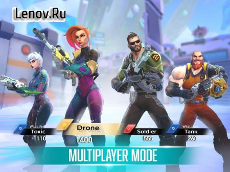 Rise: Shooter Arena v 1.5.6 Mod (Unlimited Ammo/No Reload)
