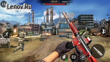 Commando Action : Team Battle - Free Shooting Game v 1.1.2 Mod (Unlimited gold coins)
