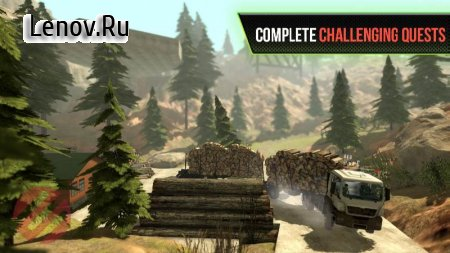 Truck Simulator OffRoad 4 v 2.9 Mod (Unlock all levels)
