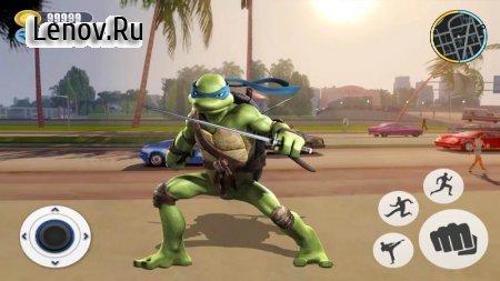 Adventure Turtle Hero Spider Ninja Rope Hero v 1.0 Mod (Unlimited currency/skill points)