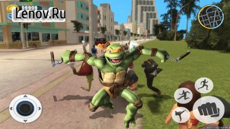 Adventure Turtle Hero Spider Ninja Rope Hero v 1.0 Mod (Unlimited currency/skill points)