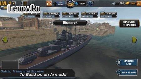 Naval Warship: Pacific Fleet v 1.9 Mod (Unlimited Gold/Diamonds)