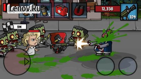 Zombie Age 3HD: Offline Zombie Shooting Game v 1.0.2 Mod (A lot of banknotes/gold coins)