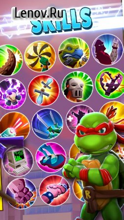TMNT: Mutant Madness v 1.31.4 Mod (Instant Fill Energy)