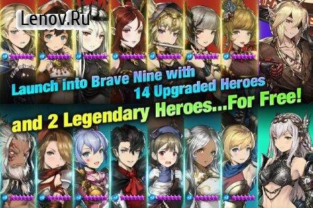 Brave Nine - Tactical RPG v 1.67.2 (Mod Menu/Battles Speed x20)