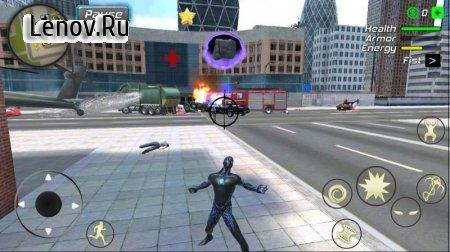 Black Hole Hero : Vice Vegas Rope Mafia v 1.1.7 (Mod Money)
