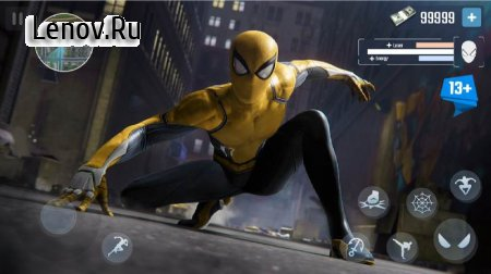 Spider Rope Hero - Gangster New York City v 1.5.10 Mod (Unlock all characters)