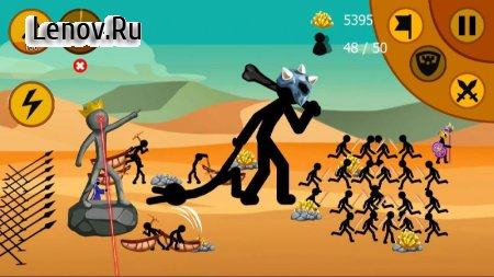 Stickman Battle 2020: Stick Fight War v 1.2.6 Mod (A lot of money)