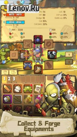 iMonster Classic - Hero Adventure v 1.3.1 Mod (A lot of damage)