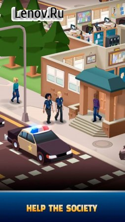 Idle Police Tycoon - Cops Game v 1.2.1 (Mod Money)