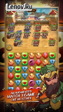 Match 3 Kingdoms: Epic Puzzle War Strategy Game v 1.1.131 (Mod Money)