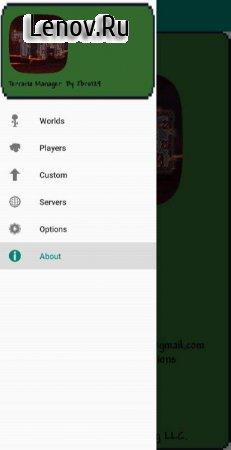 Terraria Manager v 1.3.0.12 Mod (No ads)