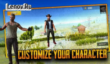 Free survival: fire battlegrounds battle royale v 7 Mod (Infinite bullets)
