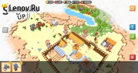 RTS Siege Up! - Medieval Warfare Strategy Offline v 1.0.286 Mod (Use of resources without reduction)