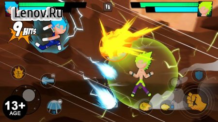 Super Dragon Stickman Battle - Warriors Fight v 0.5.4 Mod (Unlimited Money)