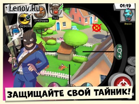 Snipers vs Thieves: Classic! v 1.0.39848 Mod (Shooting is simplified & More)