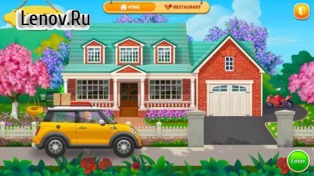 Cooking Home: Design Home in Restaurant Games v 1.0.23 Mod (Unlimited gold coins/diamonds/stars)