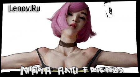 Maya and Friends (18+) v 1.0 Мод (полная версия)