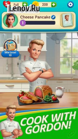 Gordon Ramsay: Chef Blast v 1.11.0 Mod (Many lives/moves)