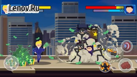 Stick Super: Hero - Strike Fight for heroes legend v 1.1.1 Mod (A lot of gold coins/diamonds)