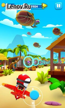 Talking Tom Fly Run: New Fun Running Game v 1.0.3.23 (Mod Money)