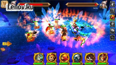 Battle of Legendary 3D Heroes v 12.0.6 Mod (DAMAGE/DEFENCE MULTIPLE)