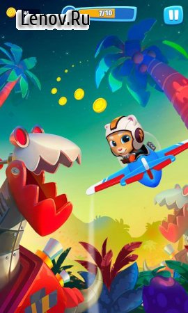 Talking Tom Sky Run: The Fun New Flying Game v 1.2.0.1340 (Mod Money)