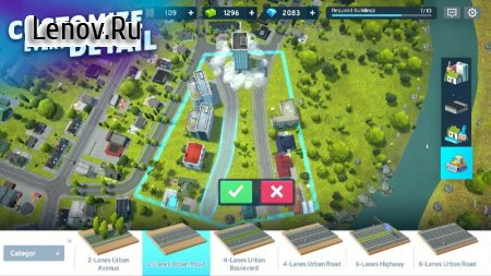 Cities: Urban Challenge v 0.1.6 Mod (Many buildings)