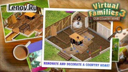 Virtual Families 3 v 1.3.3 (Mod Money)