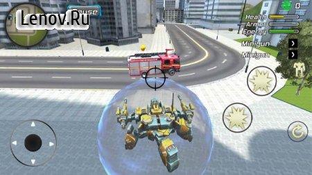 Crime Angel Superhero - Vegas Air Strike v 1.0.9 Mod (Unlimited Energy)