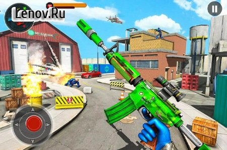 FPS Robot Shooting Strike : Counter Terrorist Game v 2.7 Mod (Character not to die/Enemy will not attack)
