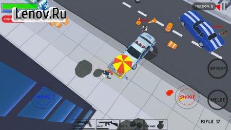 Polygon Cover Strike: Top Down Shooter Games v 1.02 Mod (Stupid bots)